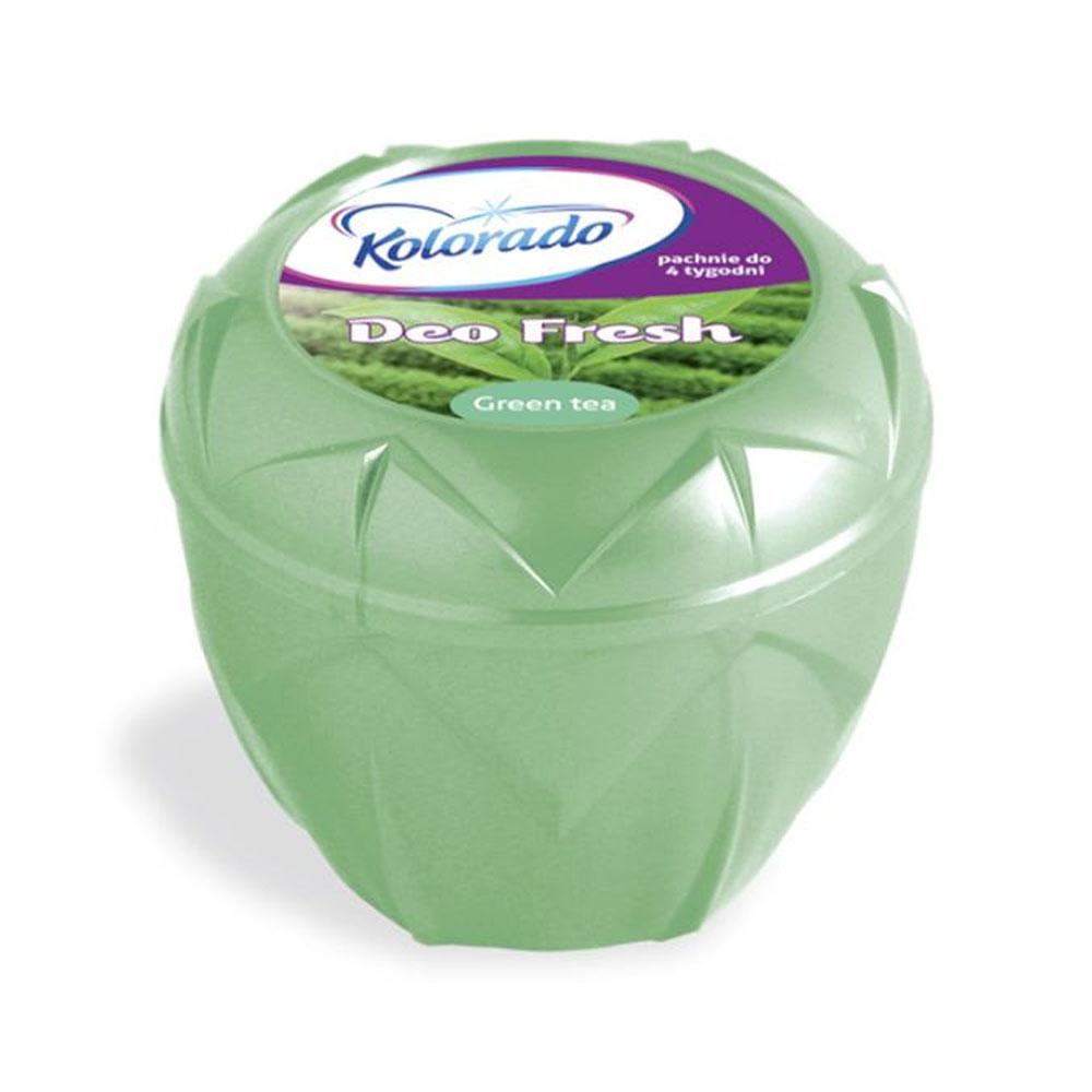 Osviežovač vzduchu do domácnosti Kolorado Gel - vôňa Green Tea