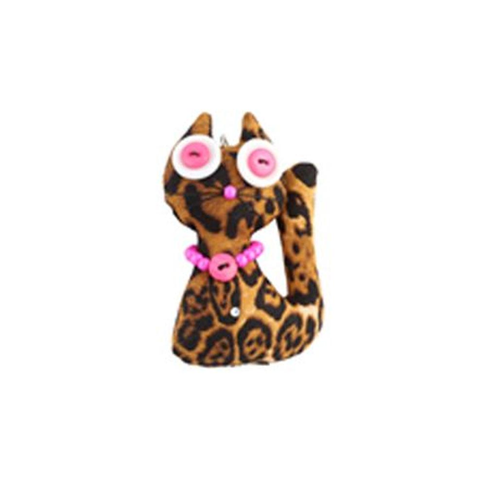 Osviežovač vzduchu Fresh and Funny - Mačka Luxuska, vôňa Coco