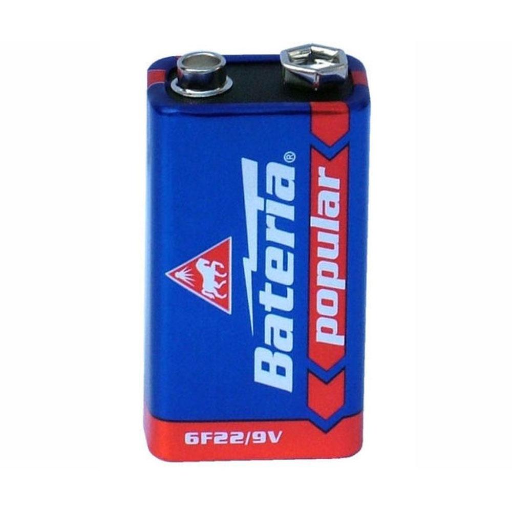 Batéria 6F22 Bateria Popular 9V (1ks)