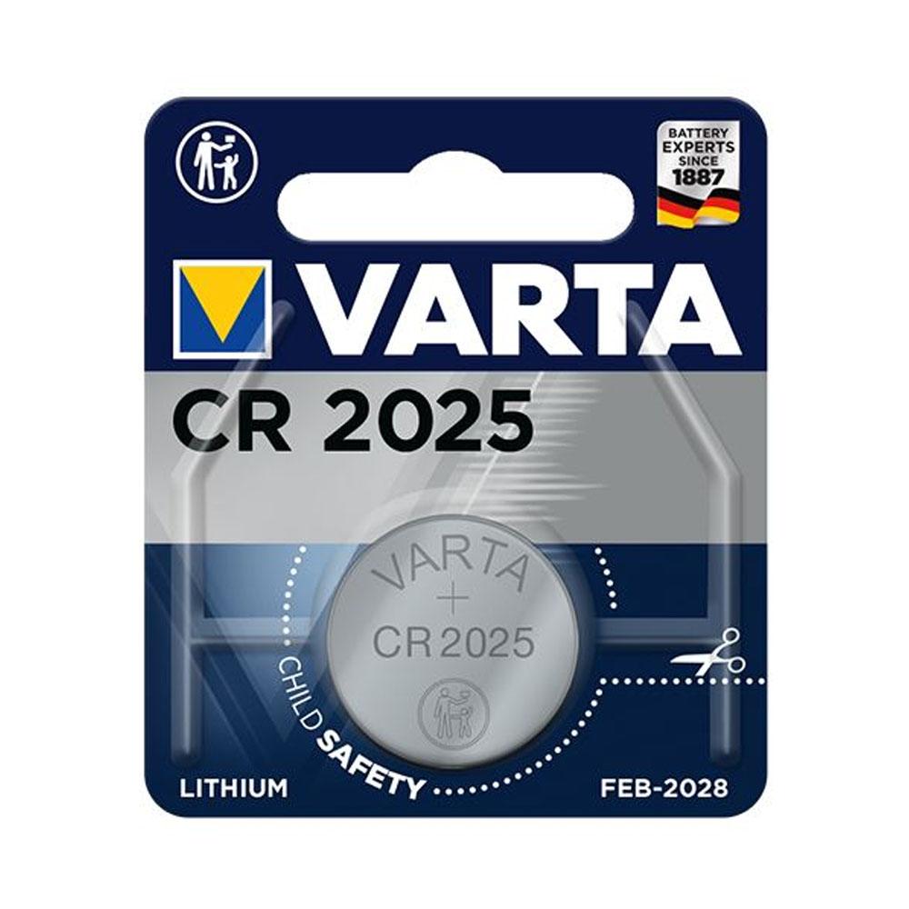 Batéria VARTA Líthiová CR2025 3V (1ks)