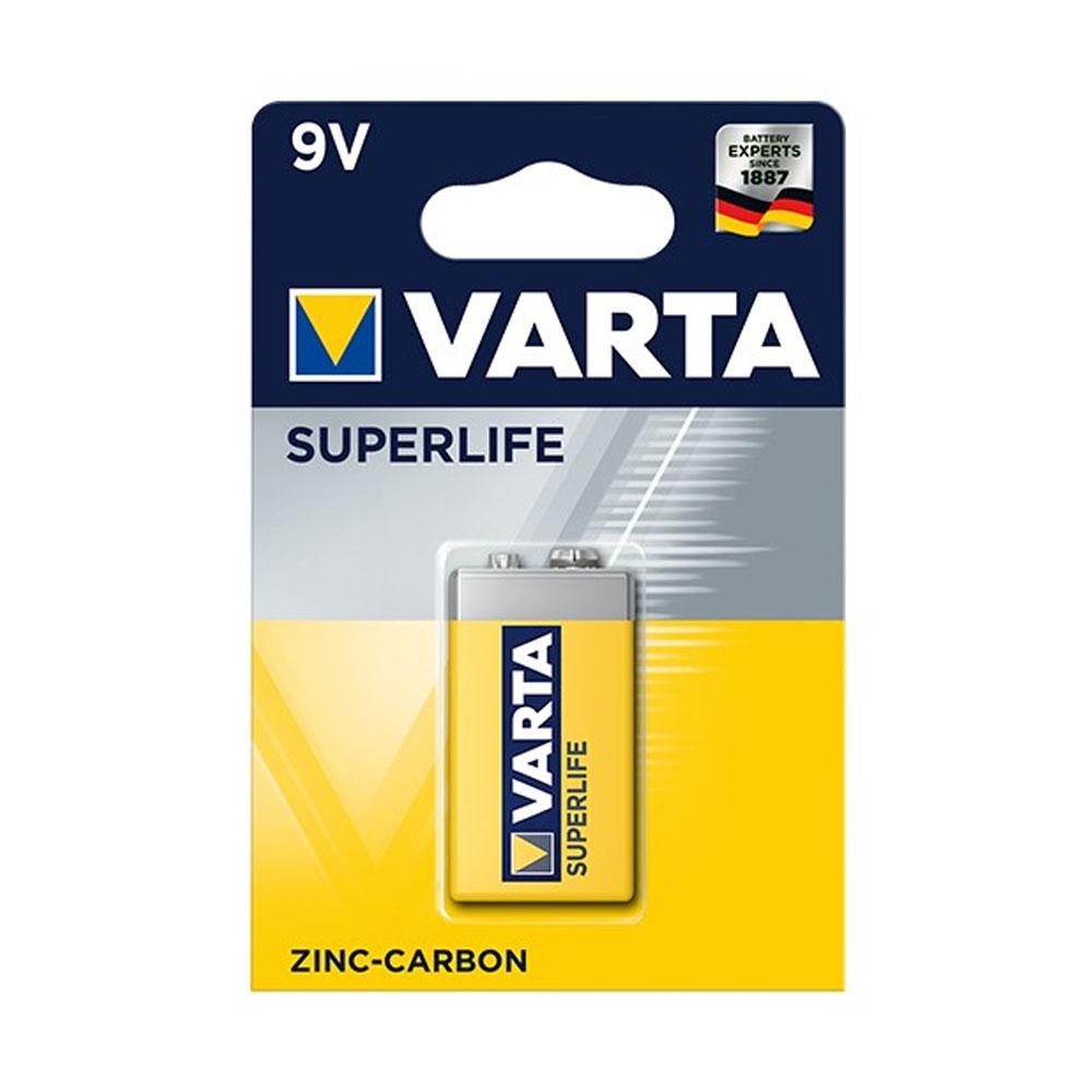 Batéria VARTA Superlife 6F22 9V (1ks)