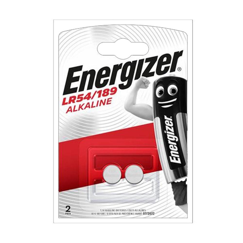 Batérie LR54/189 Energizer alkalické gombíkové 1,5V (2ks)