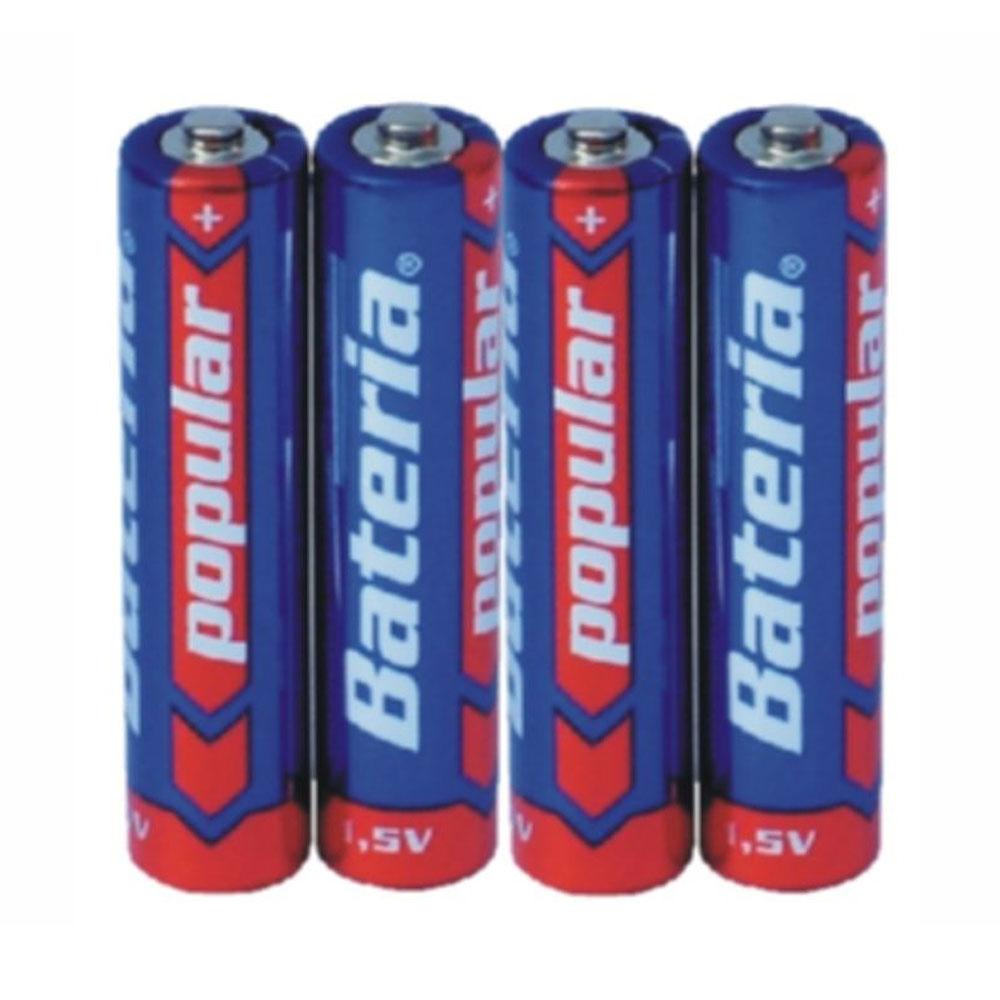 Batérie R03 Bateria Popular AAA 1,5V (4ks)