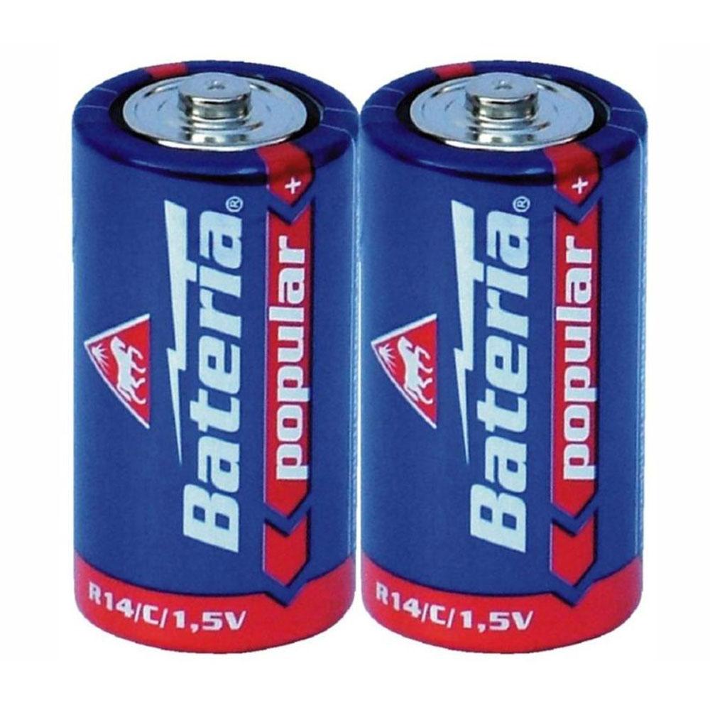 Batérie R14 Bateria Popular C 1,5V (2ks)
