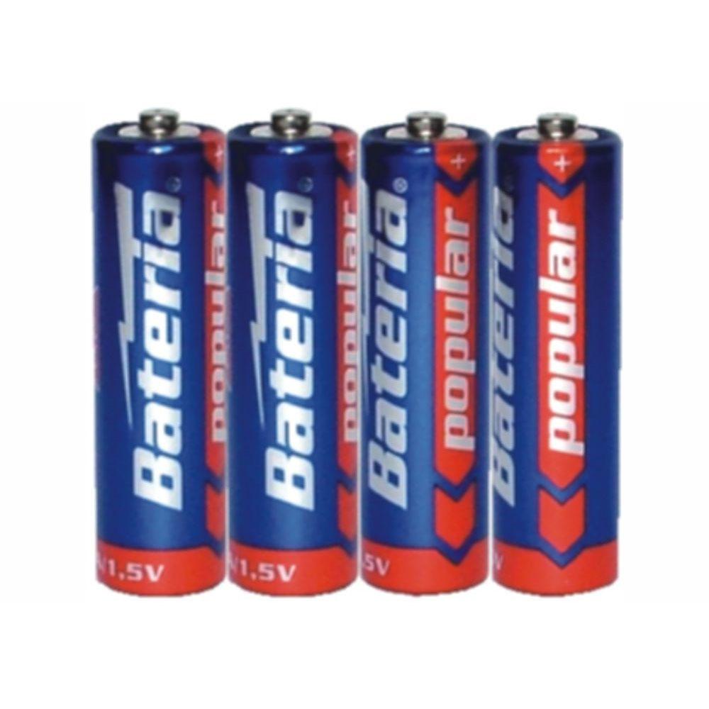 Batérie R6 Bateria Popular AA 1,5V (4ks)