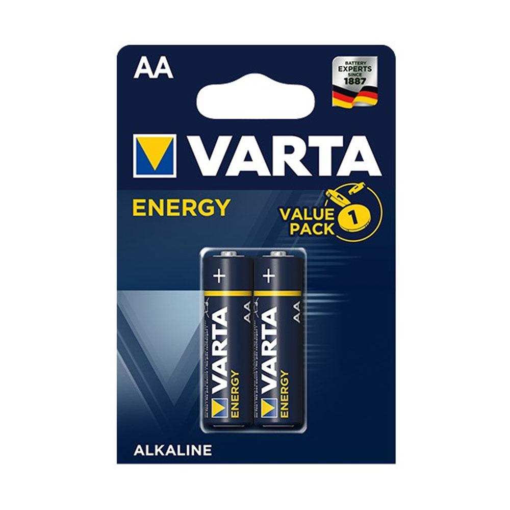Batérie VARTA Energy AA LR6 1,5V (2ks)