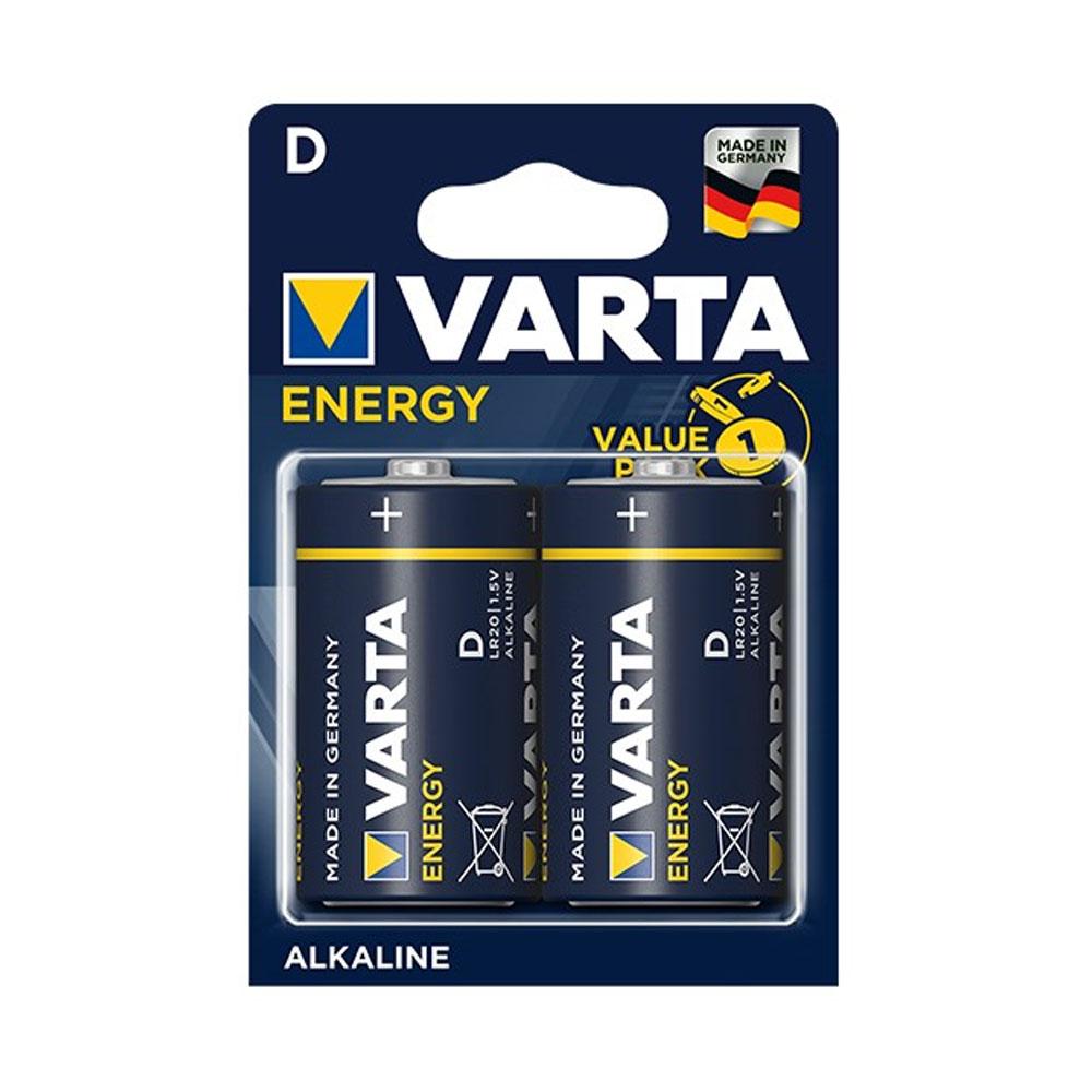 Batérie VARTA Energy D LR20 1,5V (2ks)