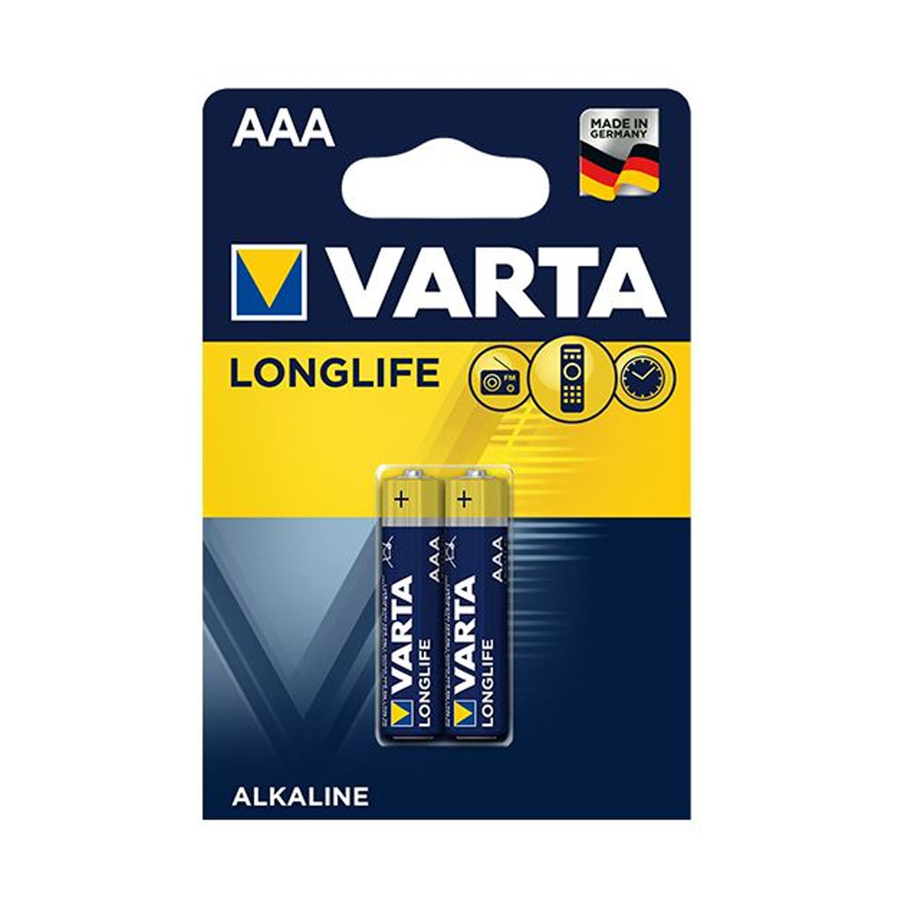 Batérie VARTA Longlife AAA LR03 1,5V (2ks)