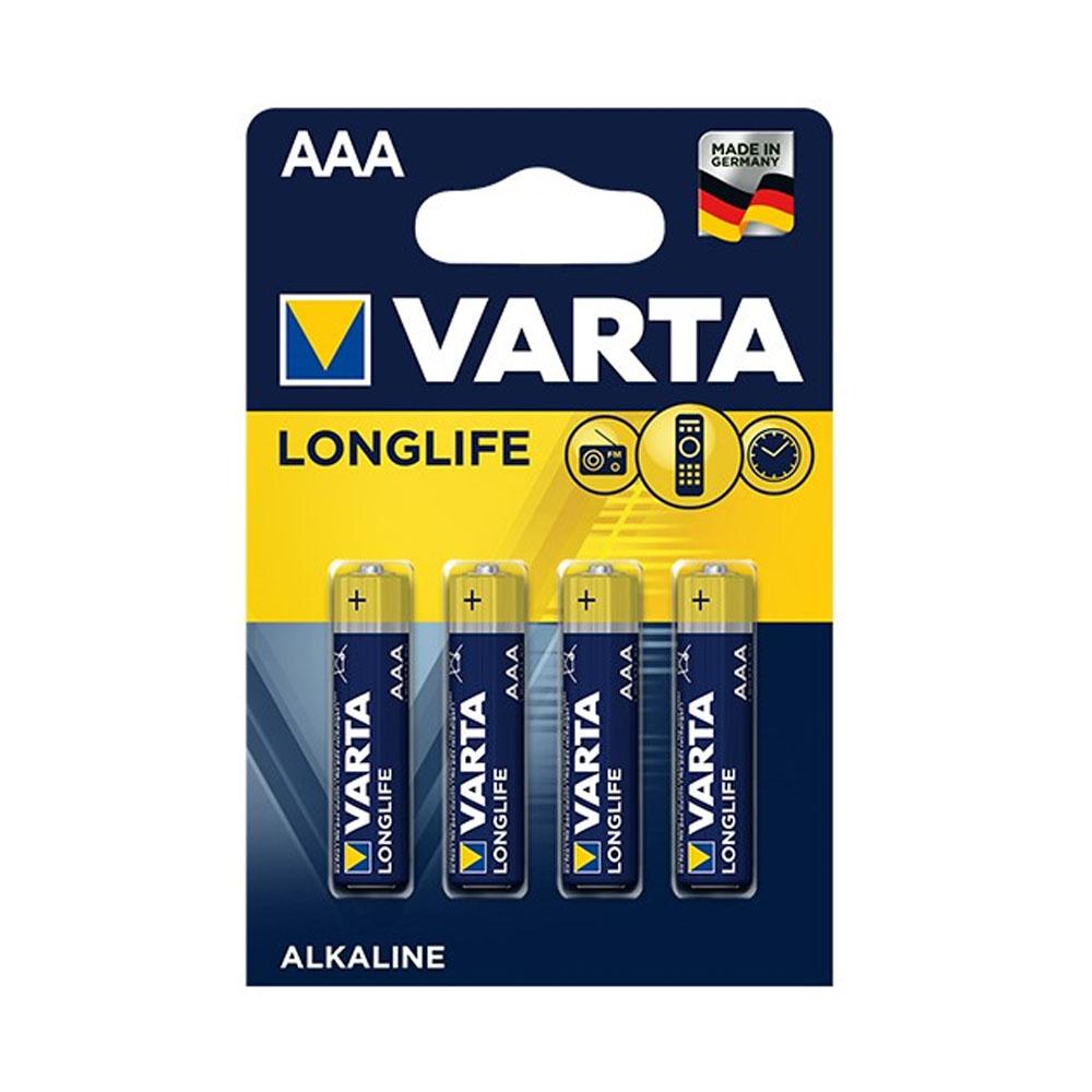 Batérie VARTA Longlife AAA LR03 1,5V (4ks)