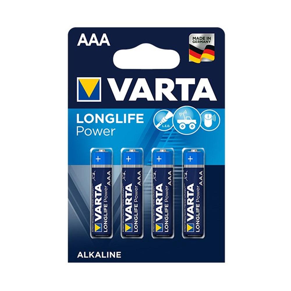Batérie VARTA Longlife Power AAA LR03 1,5V (4ks)