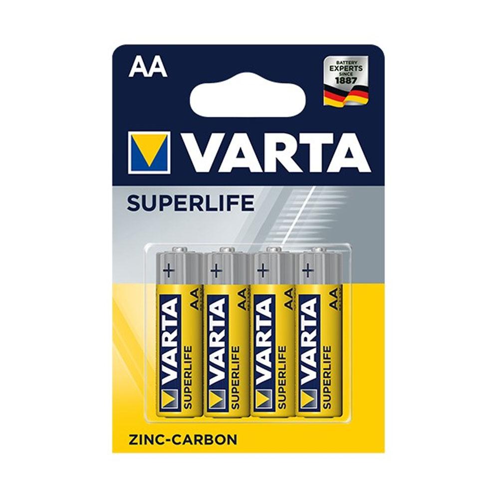 Batérie VARTA Superlife AA R6P 1,5V (4ks)