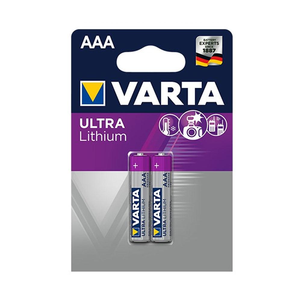 Batérie VARTA Ultra Lithium AAA FR10G445 1,5V (2ks)