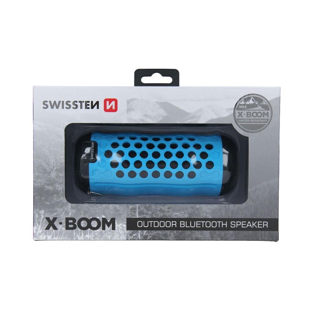 Bluetooth reproduktor Swissten X-BOOM modrý