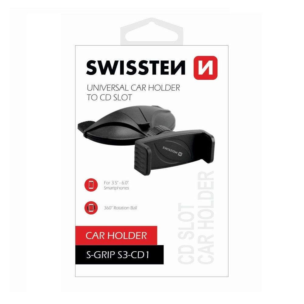 Držiak do auta Swissten S-GRIP S3-CD1