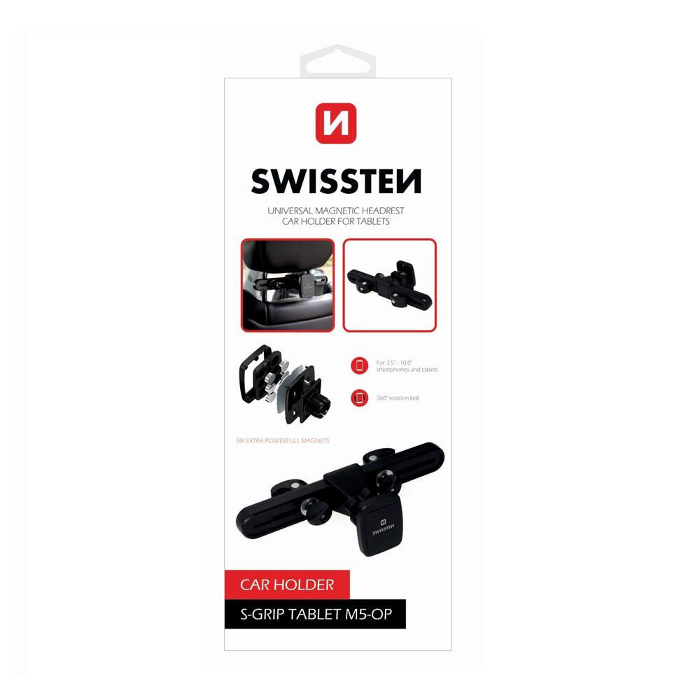 Magnetický držiak do auta na tablet Swissten S-GRIP M5-OP