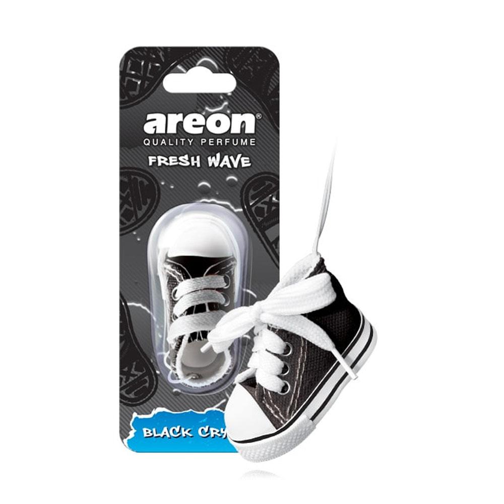 Osviežovač vzduchu Areon Fresh Wave - vôňa Black Crystal