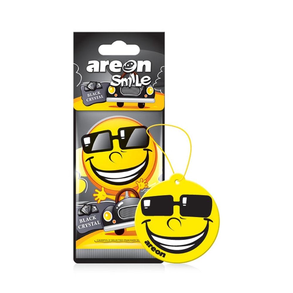 Osviežovač vzduchu Areon Smile Dry - vôňa Black Crystal