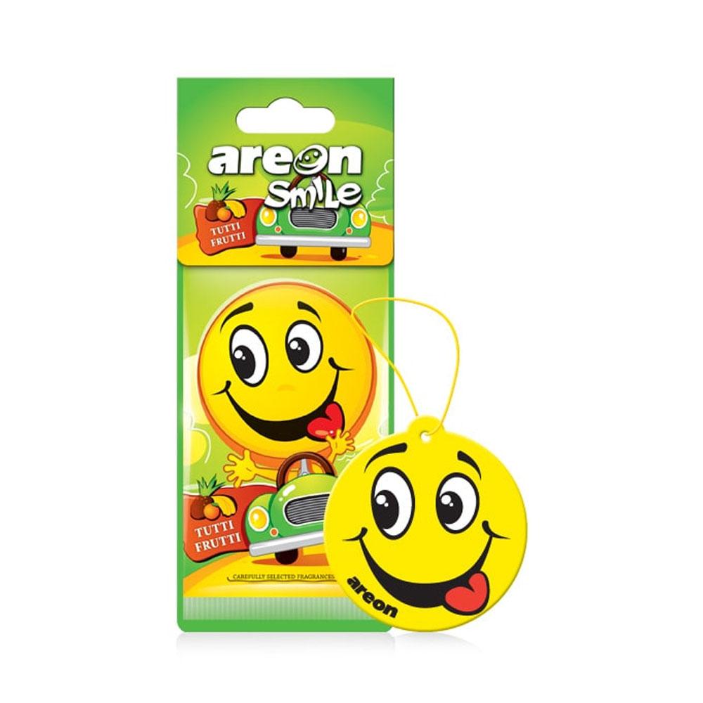 Osviežovač vzduchu Areon Smile Dry - vôňa Tutti Frutti