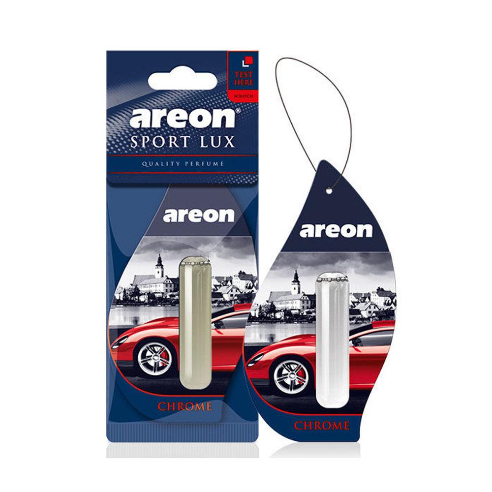Osviežovač vzduchu Areon Sport Lux Liquid - vôňa Chrome, 5ml