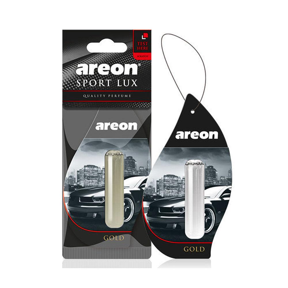 Osviežovač vzduchu Areon Sport Lux Liquid - vôňa Gold, 5ml
