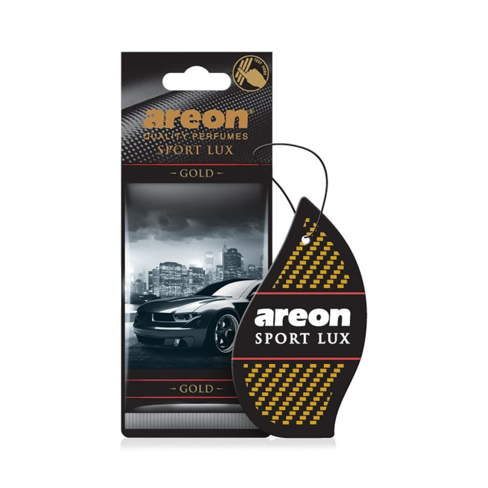 Osviežovač vzduchu Areon Sport Lux - vôňa Gold