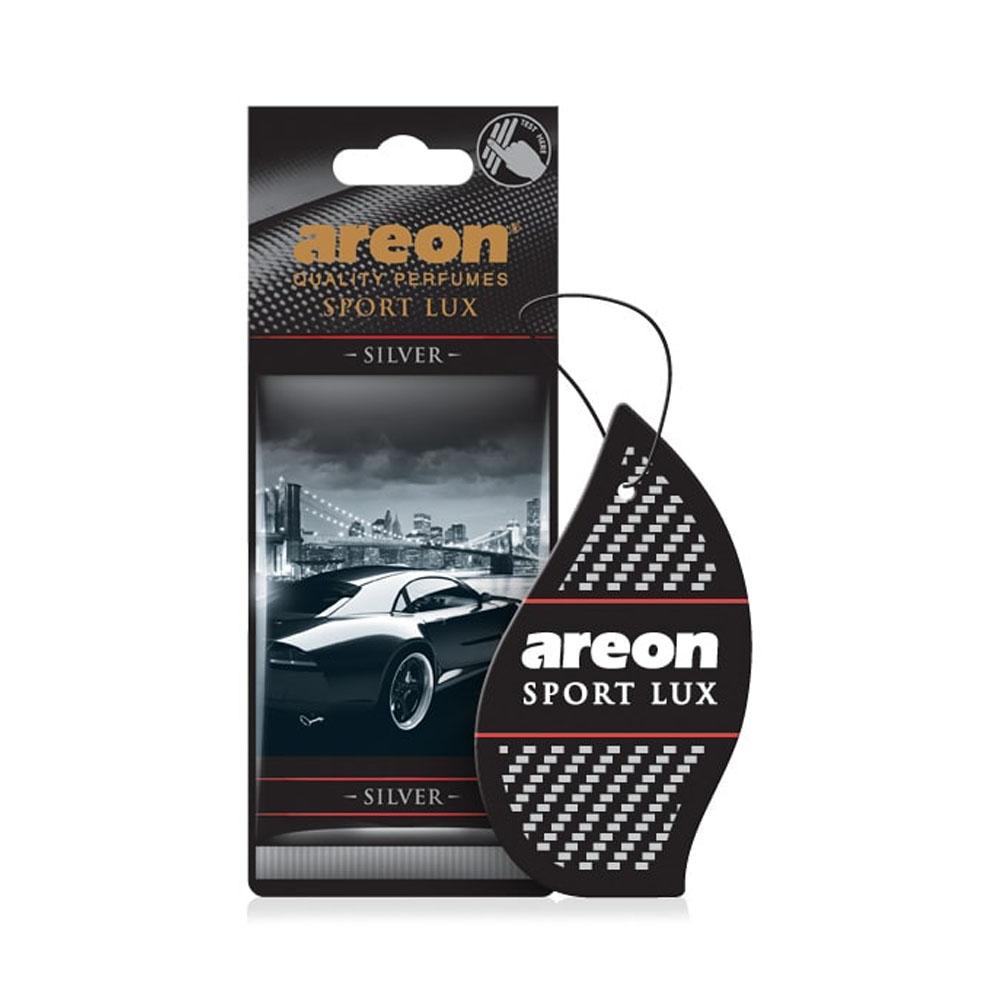 Osviežovač vzduchu Areon Sport Lux - vôňa Silver