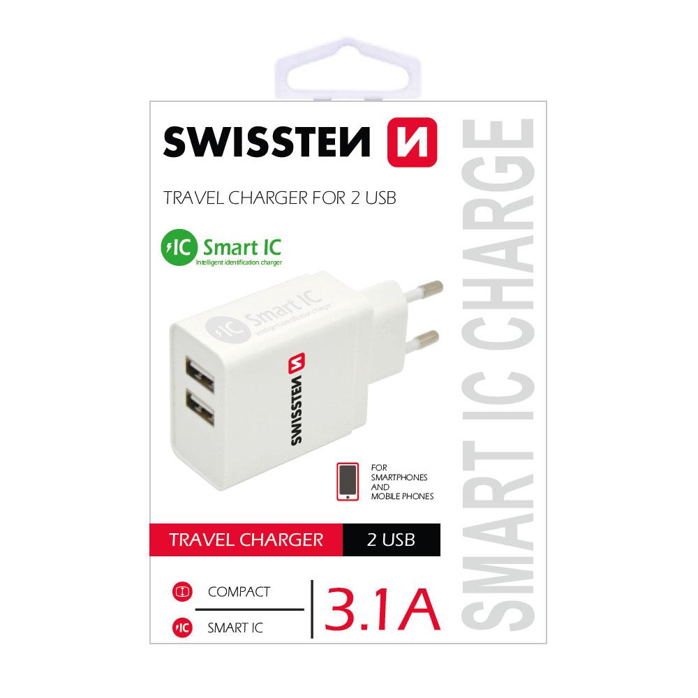 Sieťový adaptér Swissten Power Delivery USB-C18W