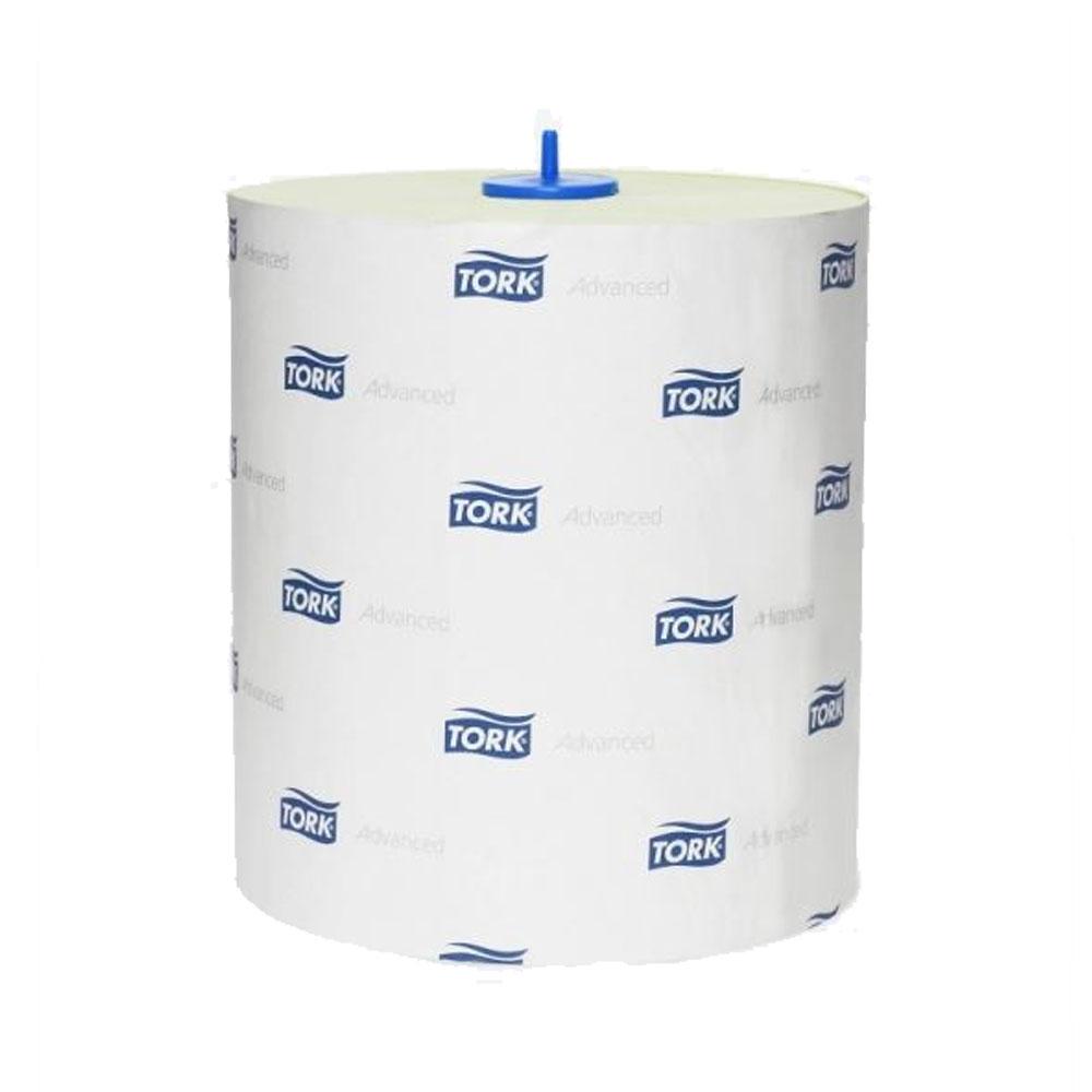 Tork Matic jemné papierové utierky v kotúči, 2 vrstvy, biela 150m H1