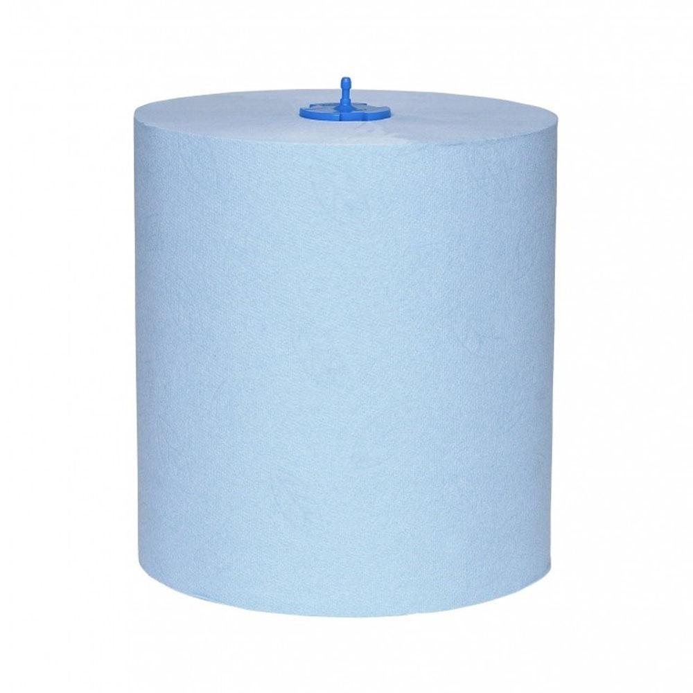 Tork Matic modré papierové utierky v kotúči, 2 vrstvy, modrá 150m H1