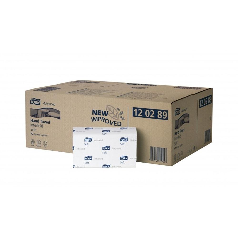 Tork Xpress jemné papierové utierky, 2 vrstvy, biela (3780ks) Multifold H2