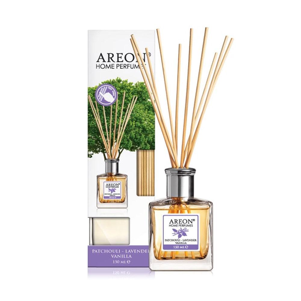 Aróma difuzér Areon Home Perfume Sticks 150ml – vôňa Patchouli-Lavender-Vanilla