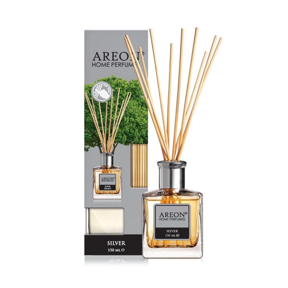Aróma difuzér Areon Home Perfume Sticks 150ml – vôňa Silver