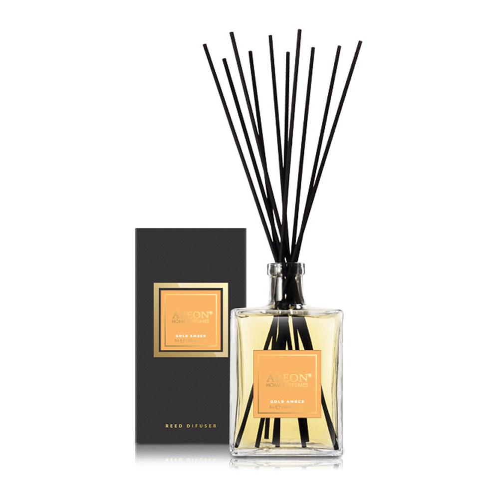 Aróma difuzér Areon Home Perfume Sticks 5L – vôňa Gold Amber
