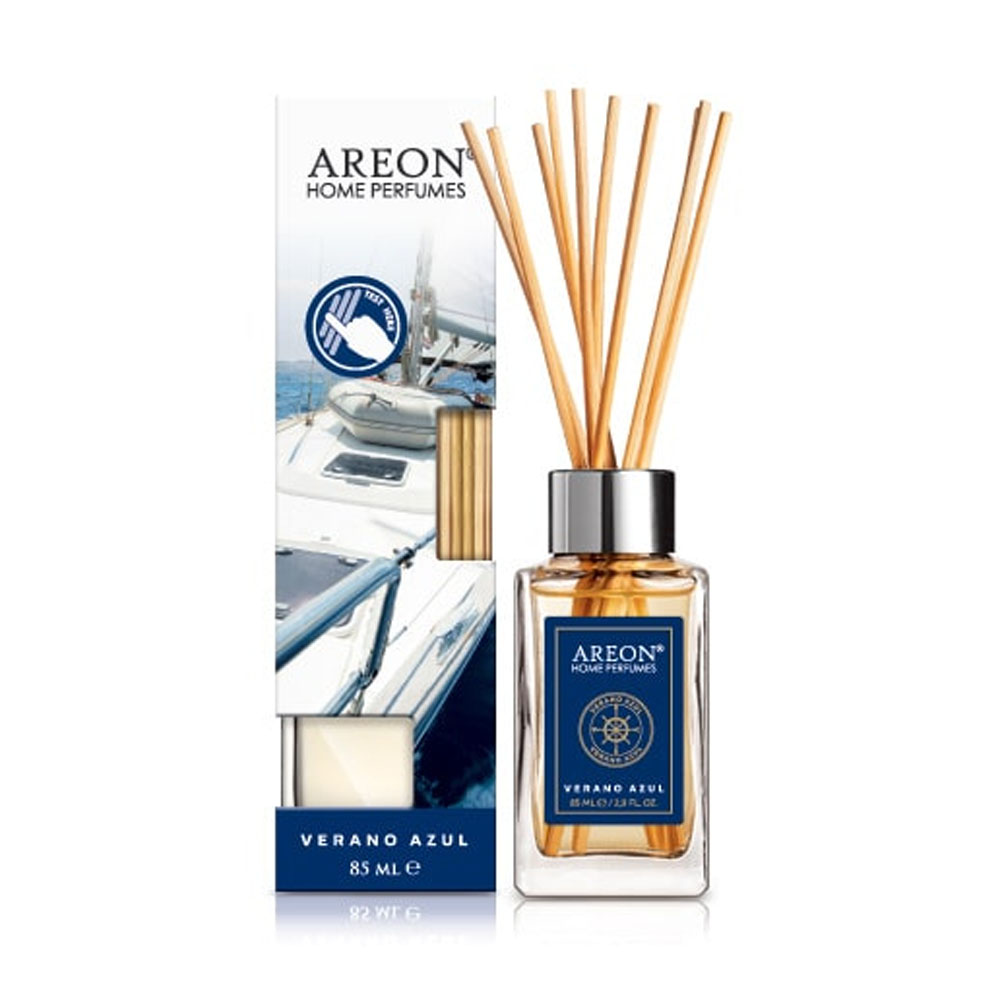 Aróma difuzér Areon Home Perfume Sticks 85ml – vôňa Verano Azul