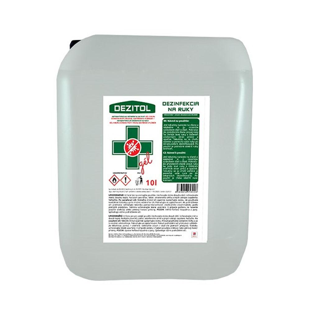 Dezinfekcia - dezinfekčný gél na ruky DEZITOL 10L
