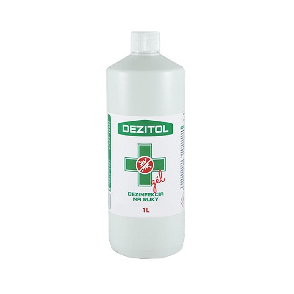 Dezinfekcia - dezinfekčný gél na ruky DEZITOL 1L