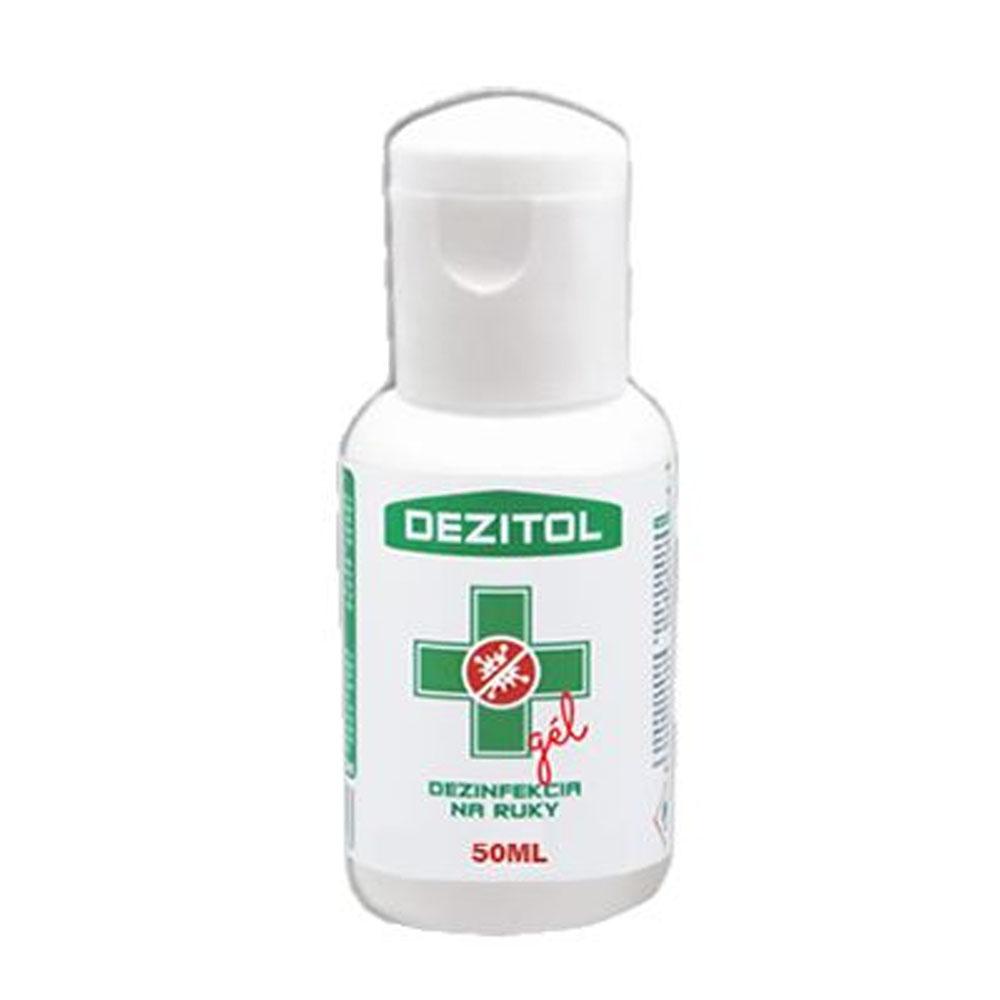 Dezinfekcia - dezinfekčný gél na ruky DEZITOL 50ml