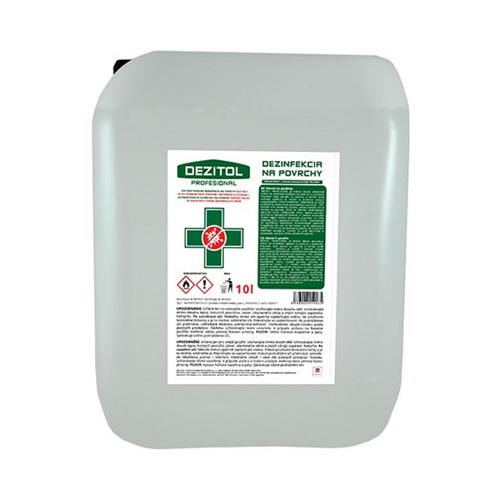 Dezinfekcia - dezinfekčný roztok na plochy DEZITOL 10L