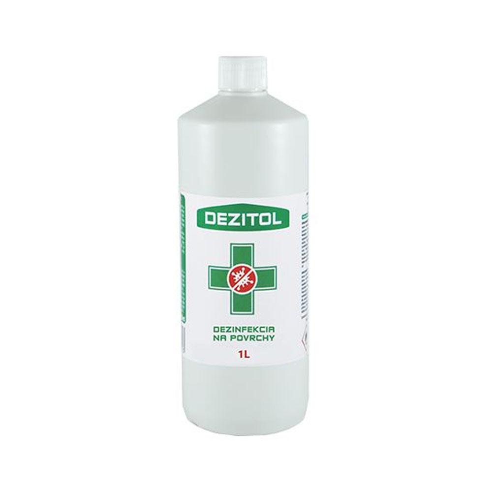 Dezinfekcia - dezinfekčný roztok na plochy DEZITOL 1L
