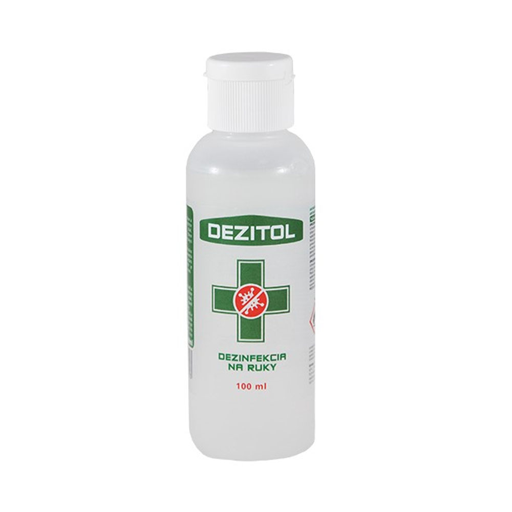 Dezinfekcia - dezinfekčný roztok na ruky DEZITOL 100ml