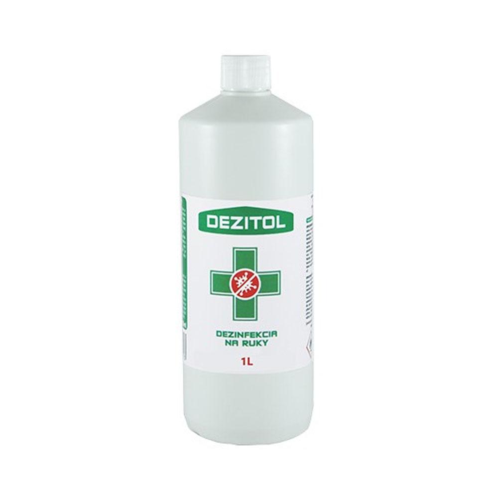 Dezinfekcia - dezinfekčný roztok na ruky DEZITOL 1L