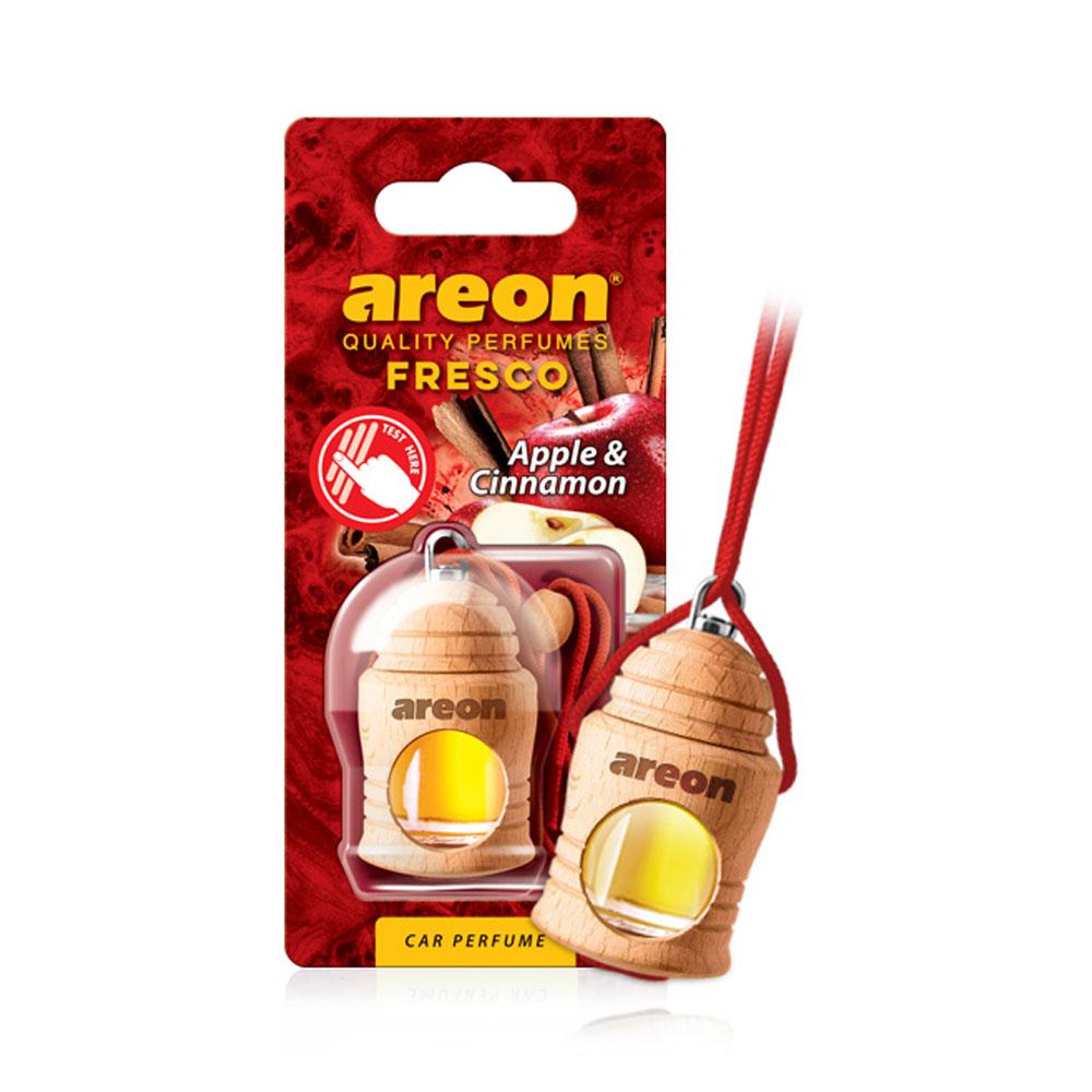 Osviežovač vzduchu Areon Fresco – vôňa Apple & Cinnamon