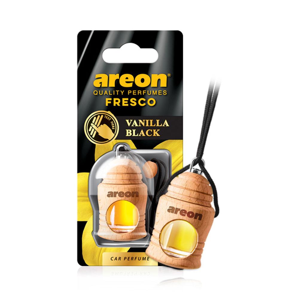 Osviežovač vzduchu Areon Fresco – vôňa Vanilla Black