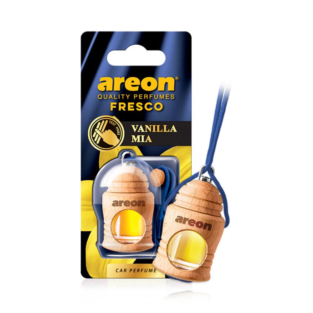 Osviežovač vzduchu Areon Fresco – vôňa Vanilla Mia