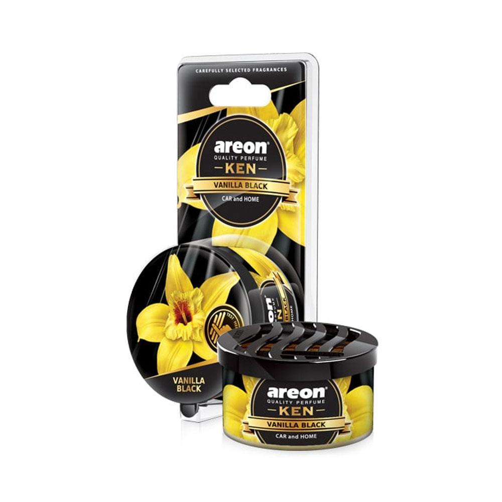 Osviežovač vzduchu Areon Ken – vôňa Vanilla Black