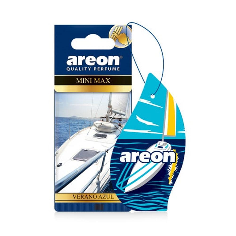 Osviežovač vzduchu Areon Mini Max – vôňa Verano Azul