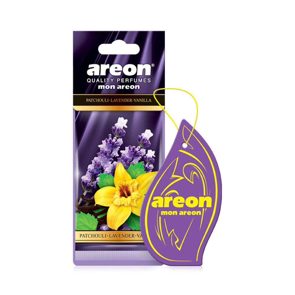 Osviežovač vzduchu Areon Mon Areon – vôňa Patchouli-Lavender-Vanilla