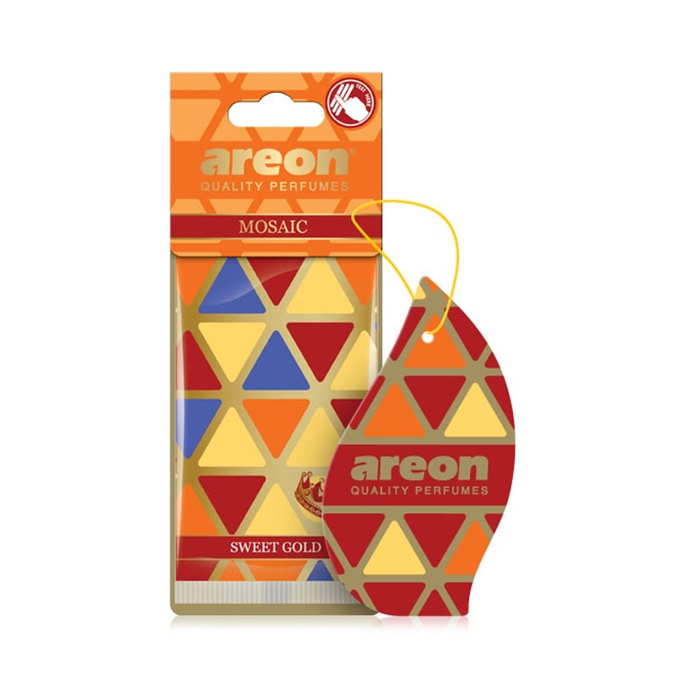 Osviežovač vzduchu Areon Mosaic – vôňa Sweet Gold