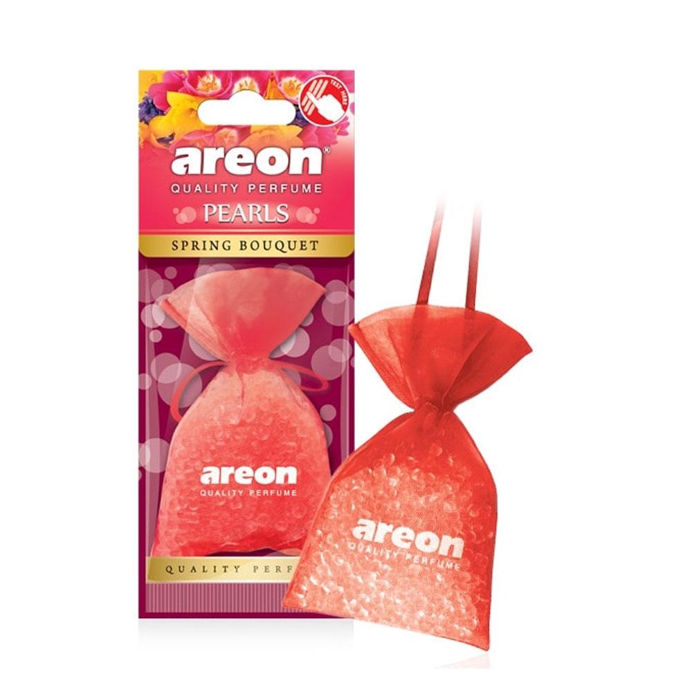 Osviežovač vzduchu Areon Pearls – vôňa Spring Bouquet
