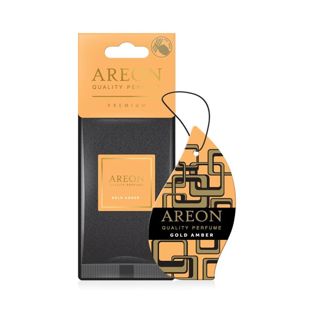 Osviežovač vzduchu Areon Premium – vôňa Gold Amber